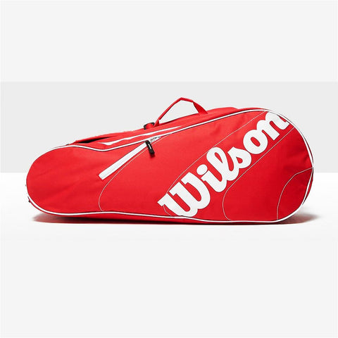 Wilson Advantage 6 Pack Racket Bag - Red