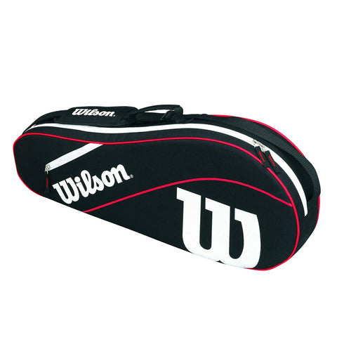 Wilson Advantage III Triple Bag - Black/White