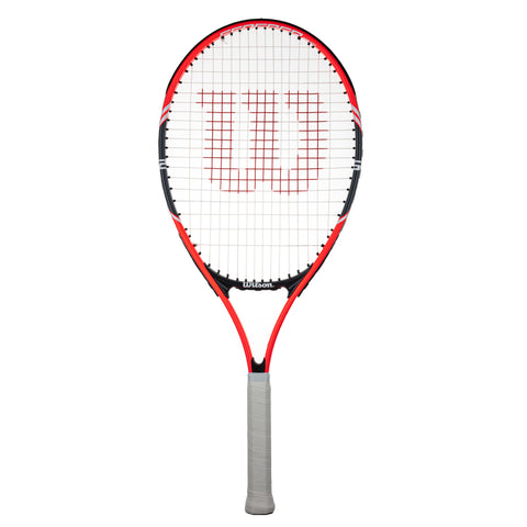 Wilson Federer 26 Junior Tennis Racket - Red
