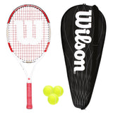 Wilson Pro Staff 25 Junior Tennis Racket + Cover + 3 Balls