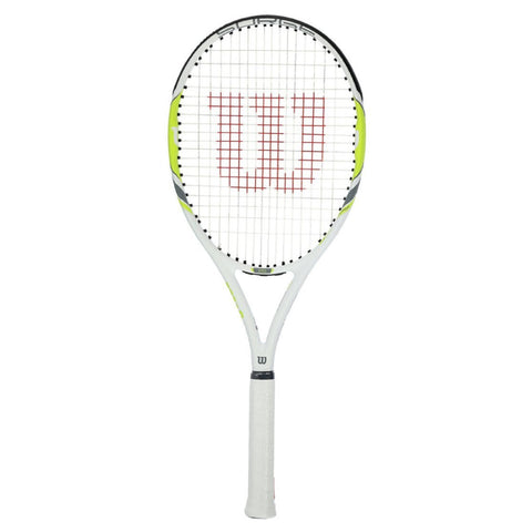 Wilson Surge 100 Tennis Racket - White/Green
