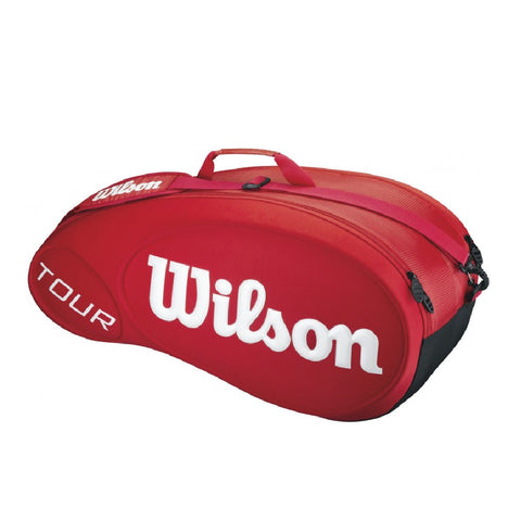 Wilson Tour Moulded 6 Pack Bag - Red