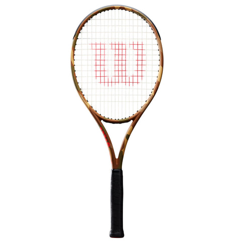 Wilson Burn 100LS Camo Tennis Racket - Frame Only - Wilson - Rackets Express