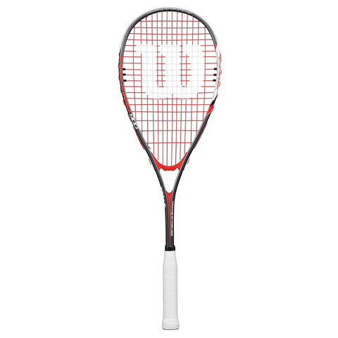 Wilson Impact Pro 900 Squash Racket - Red/Grey - Wilson - Rackets Express