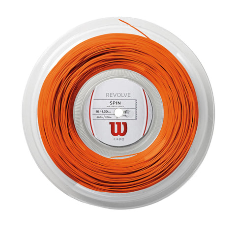 Wilson Revolve Spin 16 (1.30) - Orange - Wilson - Rackets Express