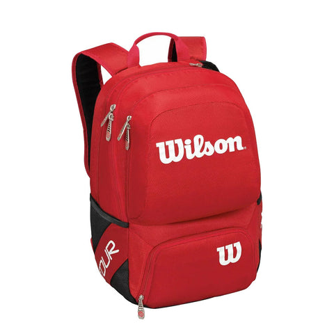 Wilson Tour V Medium Racket Backpack - Red - Rackets Express - Rackets Express