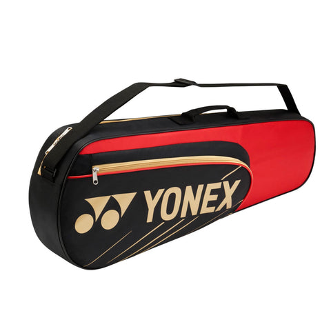 YONEX Team 3 Racket Bag (BAG4723EX) - Black/Red