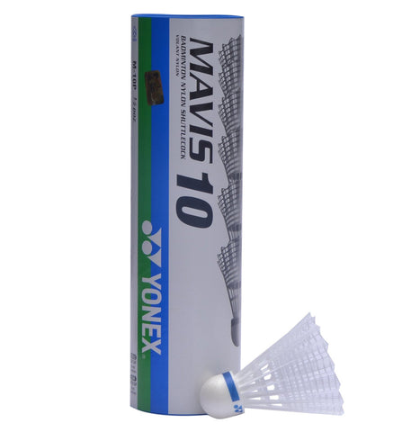 Yonex Mavis 10 Shuttlecocks - Tube of 6 - Medium - Yonex - Rackets Express