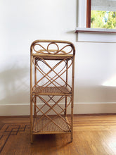 Load image into Gallery viewer, Wicker & Cane Shelf
