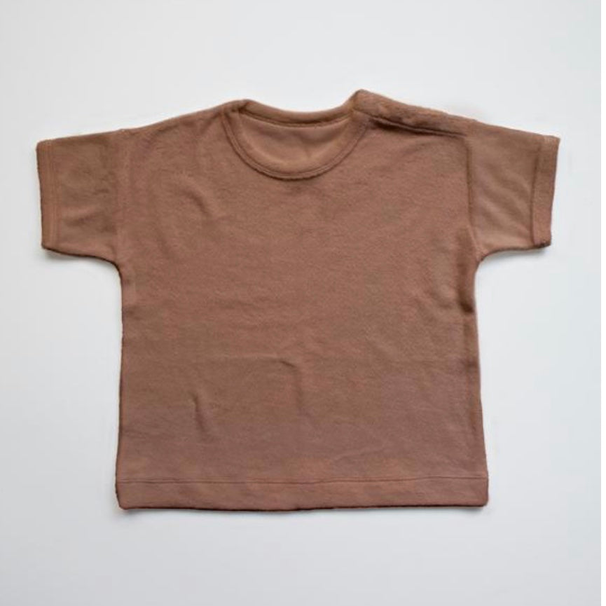 The Terry Top in Cinnamon