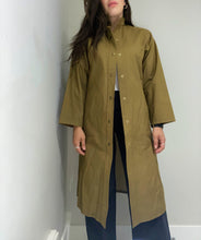 Load image into Gallery viewer, Olive Rain Coat