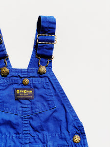 Vintage Osh Kosh Overall Shorts 2-3 years