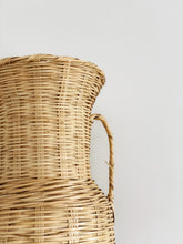 Load image into Gallery viewer, Tall Wicker Vase