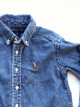 Load image into Gallery viewer, Polo Denim Shirt (4391503134838)