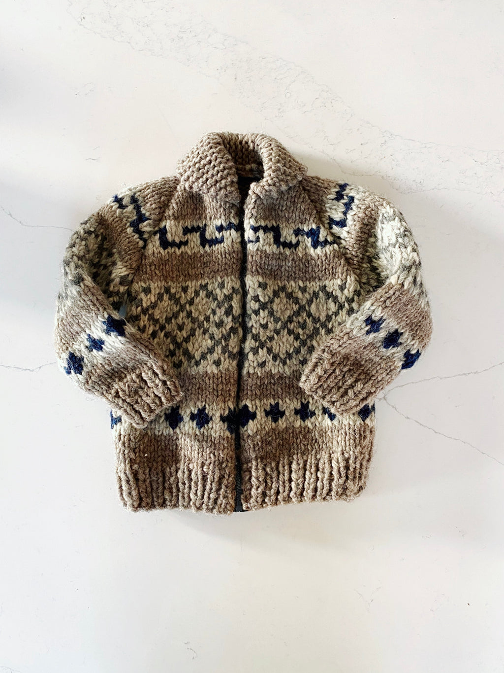 Chunky Hand Knit Sweater size 5 years