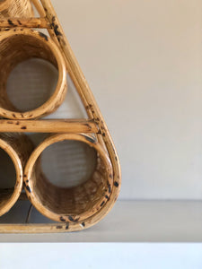 Wicker Wine Rack (4434490359926)