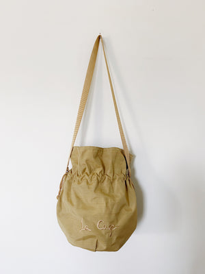 Nylon Summer Bucket  Bag