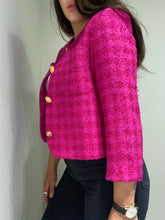 Load image into Gallery viewer, Pink Cropped Blazer
