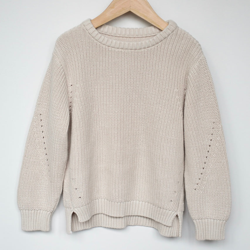 The Essential Sweater in Oatmeal