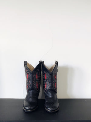 Leather Cowboy Boots size 7/8
