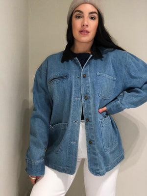 Carpenter Denim Jacket (4401422205046)