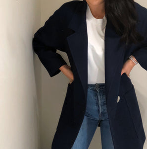 Wool Blazer Coat