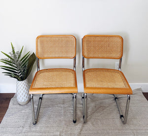 Cane Chairs (Set of two)