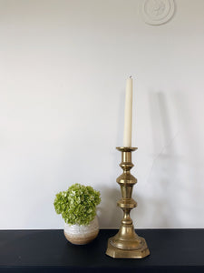 Solid Brass Candle Holder