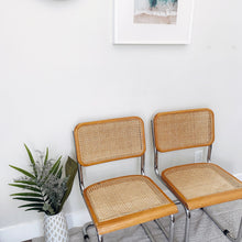 Load image into Gallery viewer, Cane Chairs (Set of two)