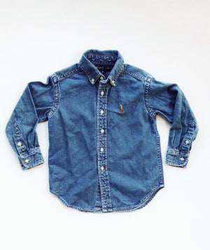 Polo Denim Shirt (4391503134838)