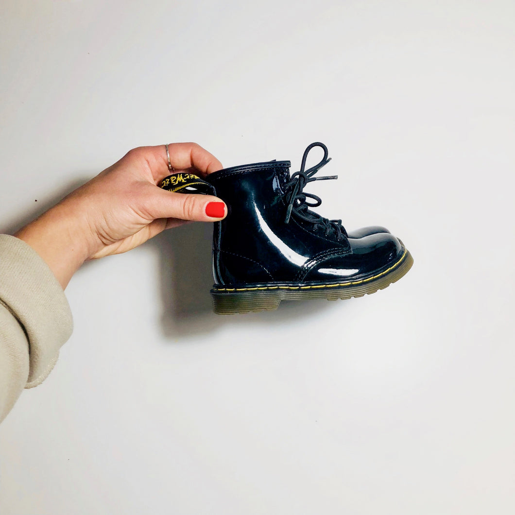 Dr. Marten Boots in Patent Leather (2081640448098)