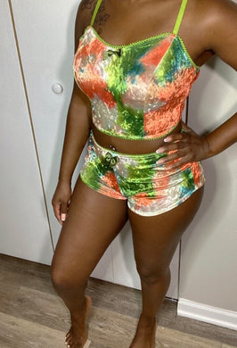 Two piece lounge set