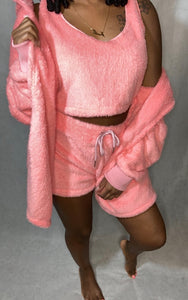 3 Piece Fleece Pajama Set