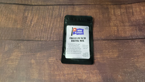 MRE Fruit Punch Drink Mix