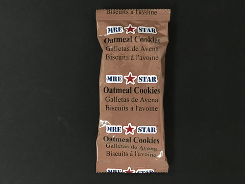 Oatmeal Cookies (4) - MRE Nation