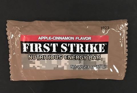 First Strike Apple-Cinnamon Energy Bar - MRE Nation