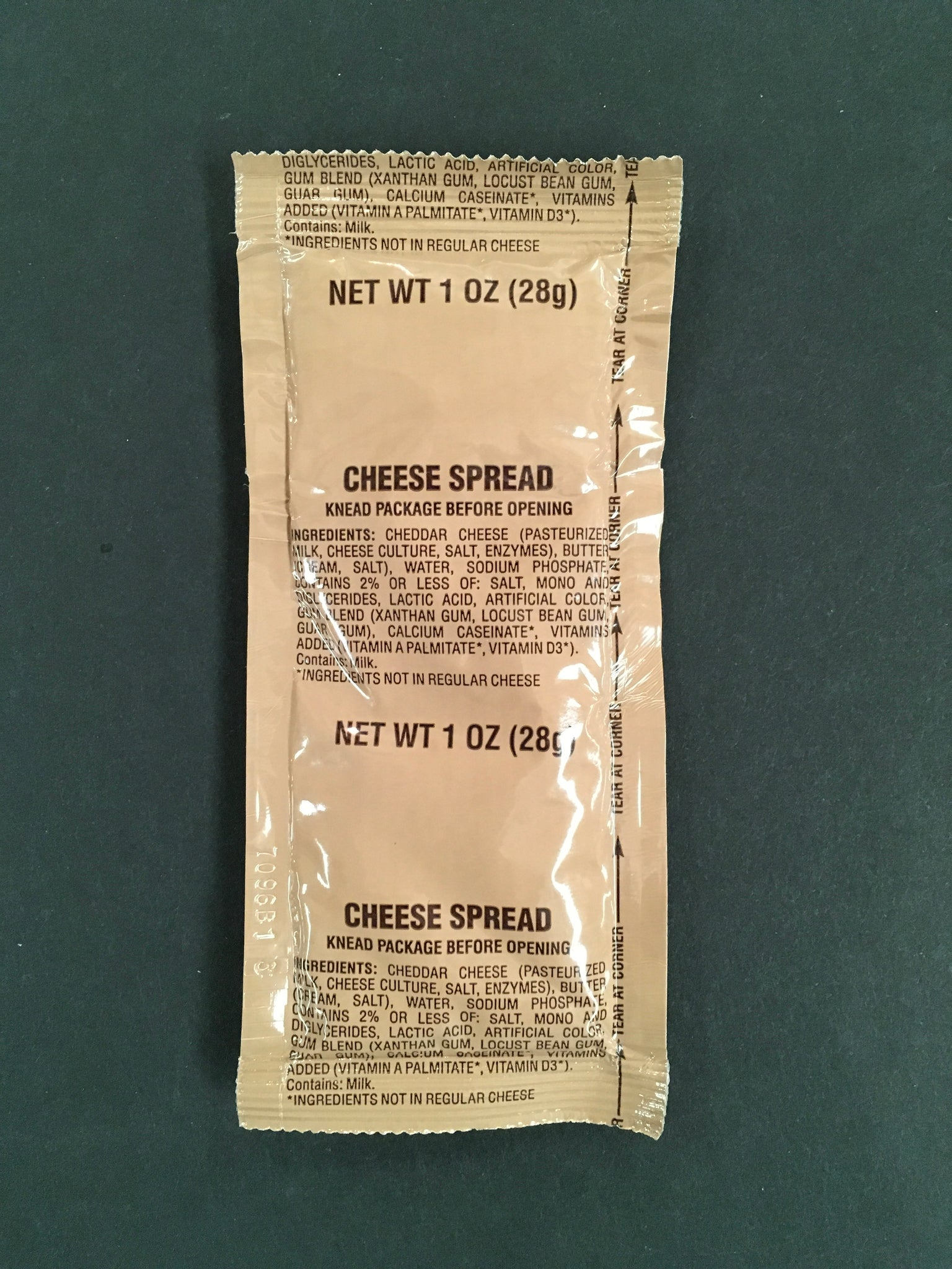 Cheese Spread - MRE Nation