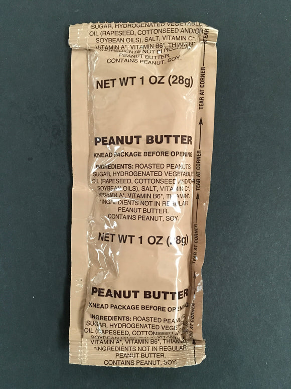 Smooth Peanut Butter - MRE Nation