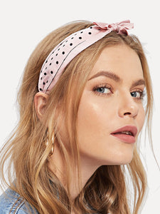 Decorated Headband - hashtag