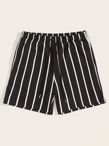 Waist Striped Shorts