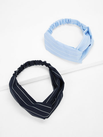 Twist Headband 2pcs