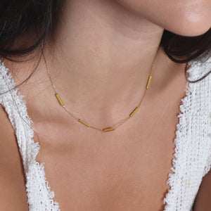 1441 h. bars necklace