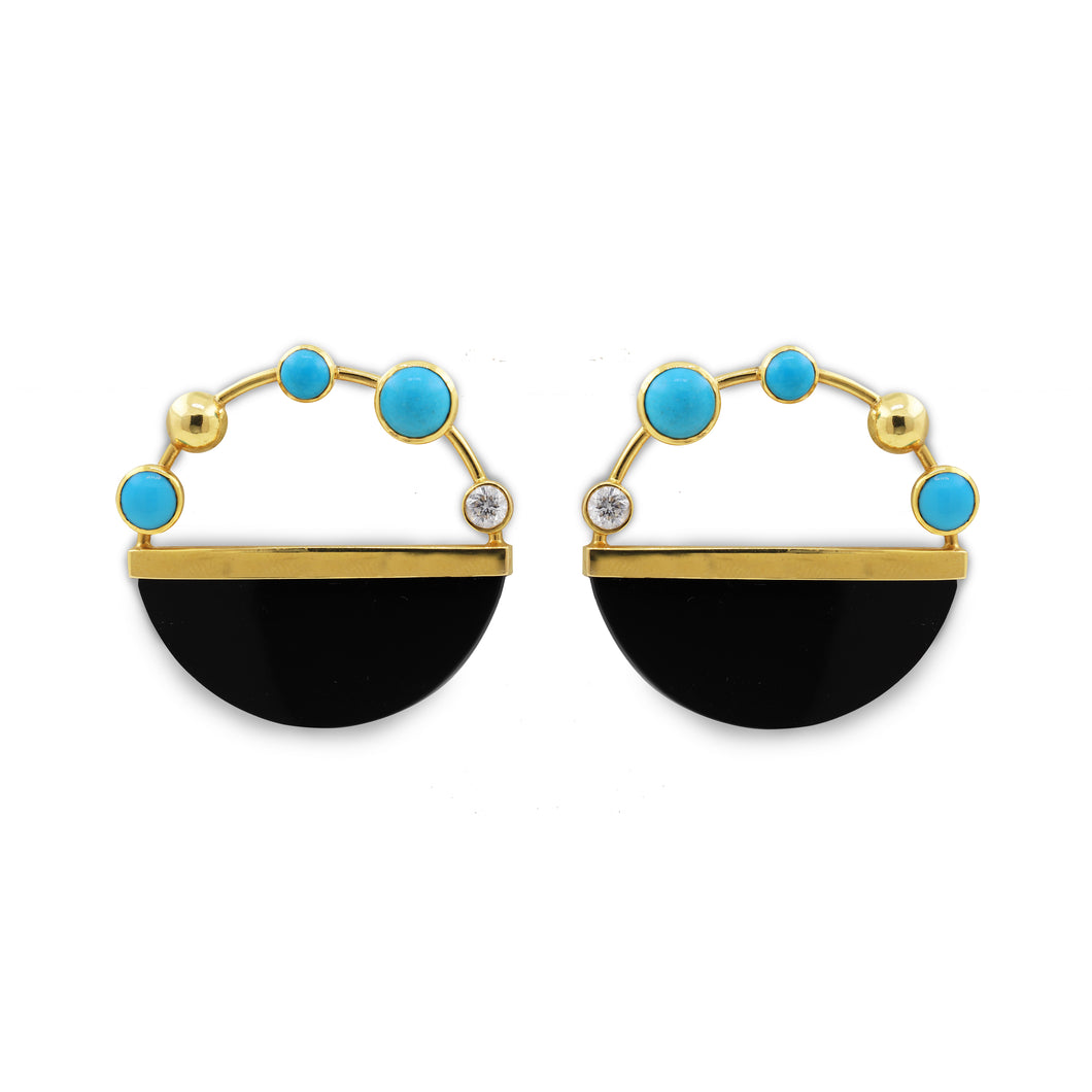 Falak Galaxy Statement Earrings