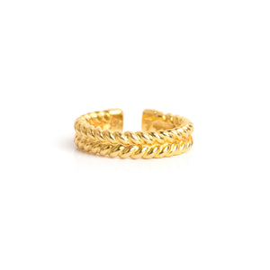 jadela yellow gold ring
