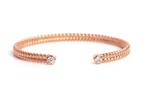 Jadela Rose Gold Bracelet with Diamonds