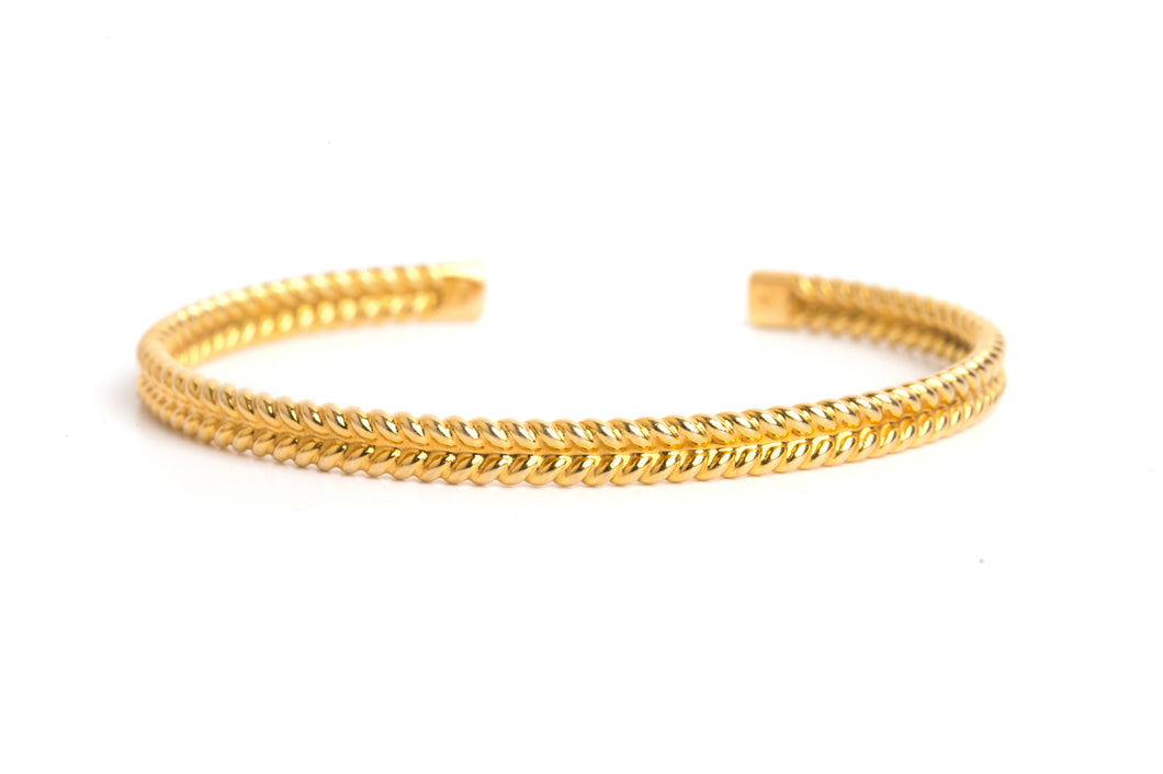 jadela yellow gold bracelet