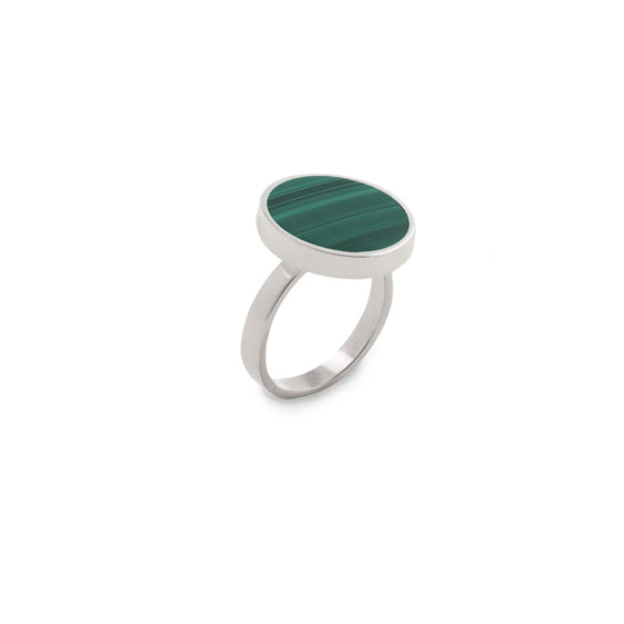falak men's malachite ring