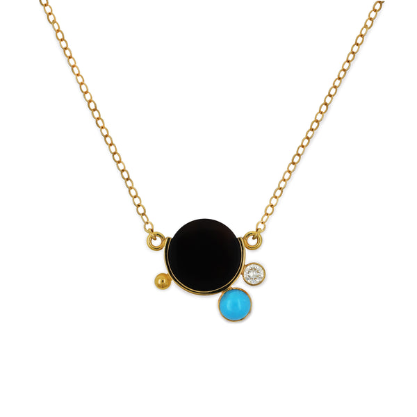 falak mini galaxy necklace
