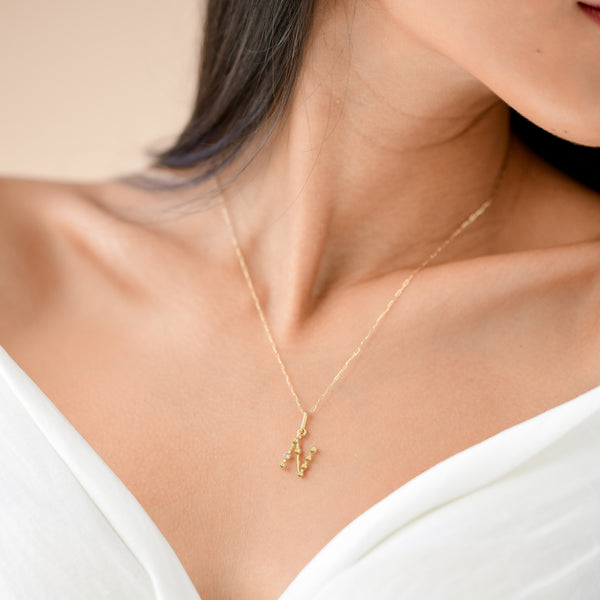 n initial necklace