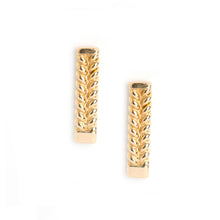 Jadela Yellow Gold Earrings
